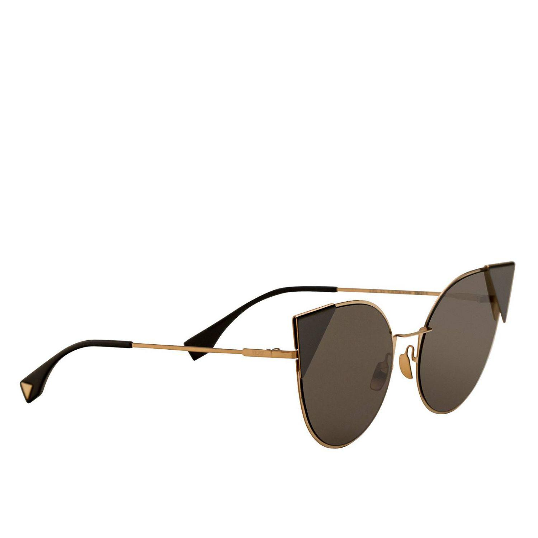d72088e0121 Fendi Sunglasses Women in Brown - Lyst