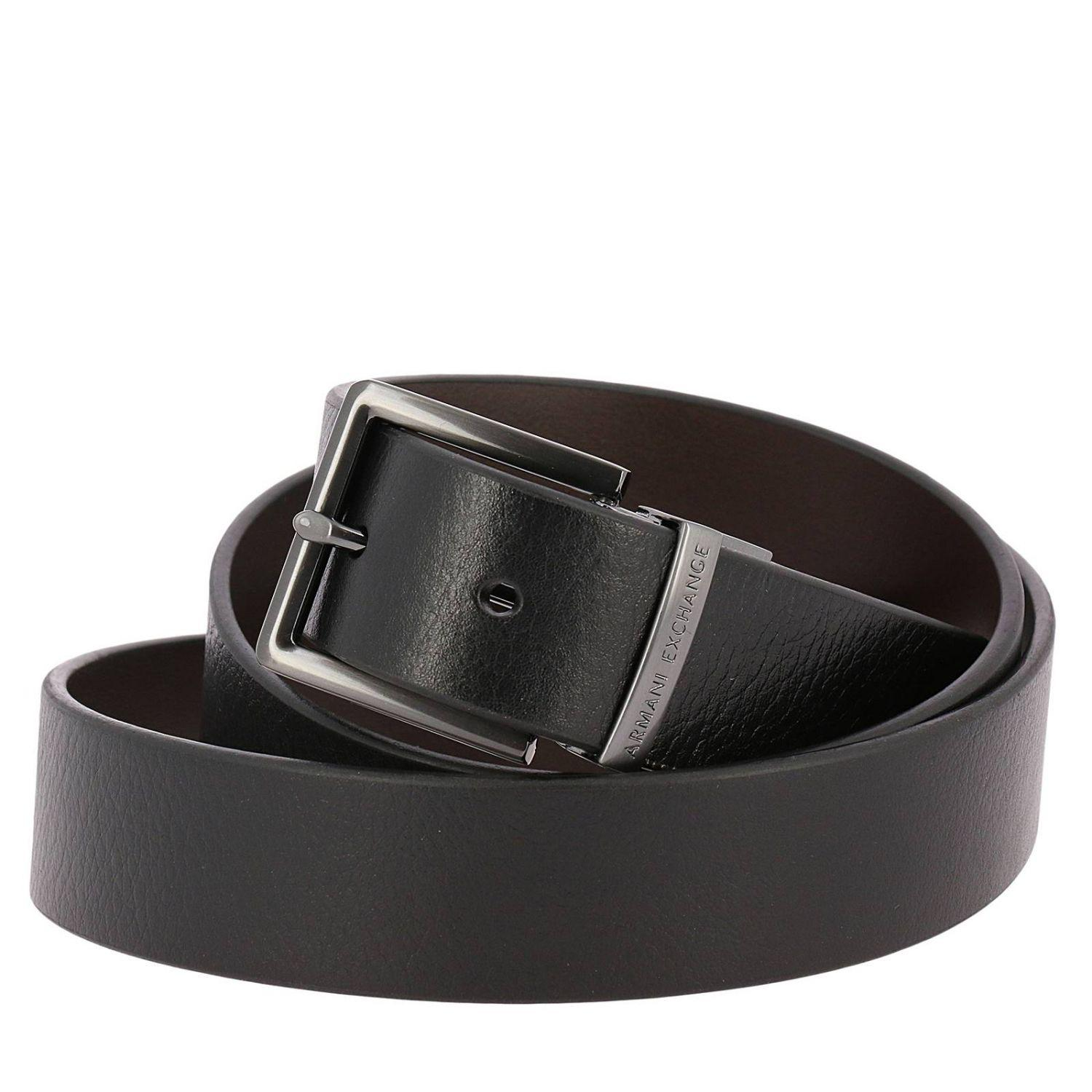 a4a908112f6 ... purchase lyst armani exchange belt men in brown for men 77e04 364f5
