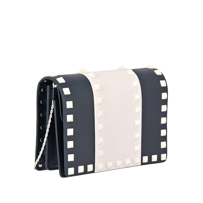 Bag Spike Rockstud With Mini Lyst Thin Free Valentino xnWR1S1