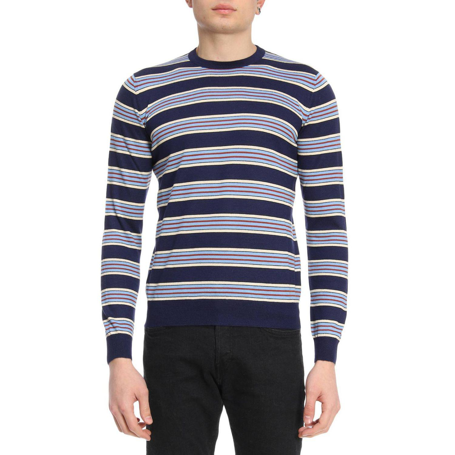 2449a5f64818 Lyst - Prada Sweater Men in Blue for Men