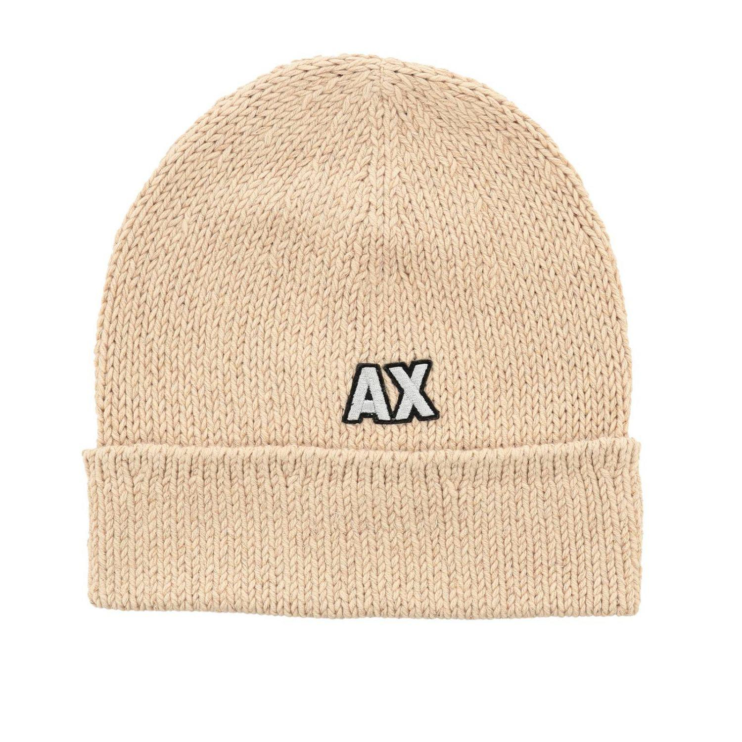 43333f7a998 Armani Exchange Hat Women in Natural - Lyst