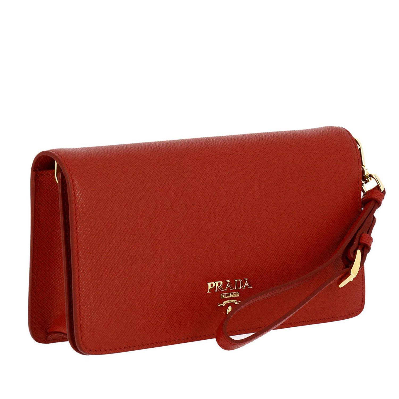 312d9bfe9bfe Lyst - Prada Mini Bag Women in Red