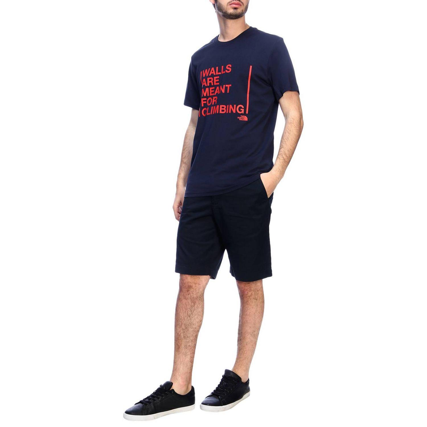 52c3393a1 The North Face T-shirt Men in Blue for Men - Lyst
