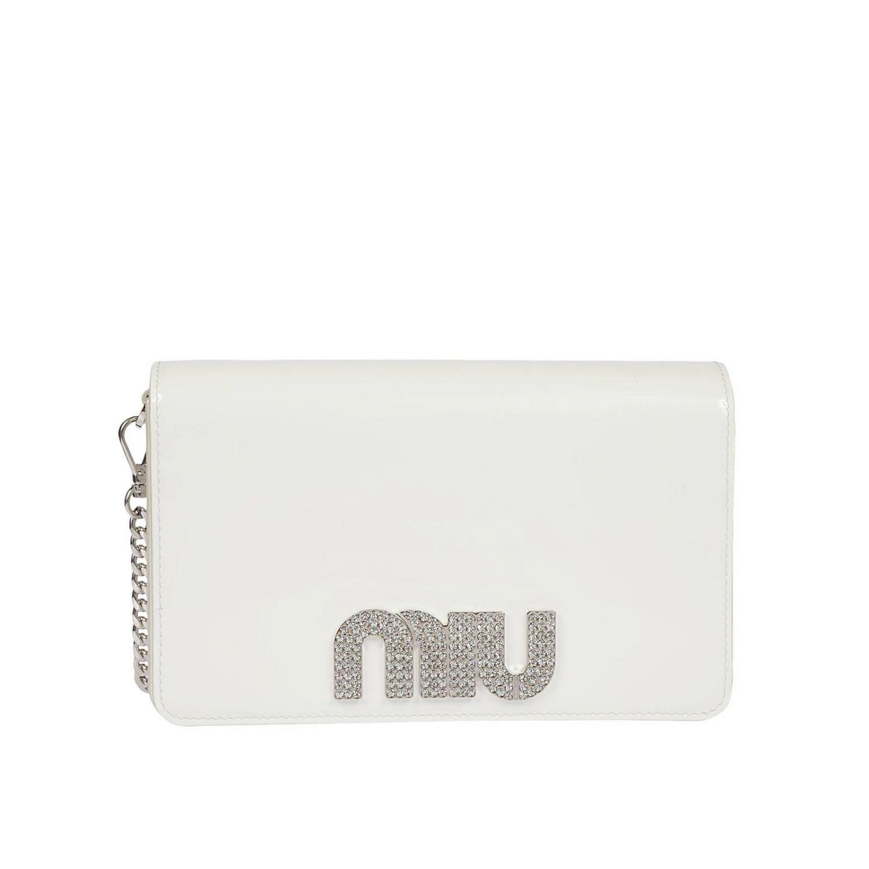 Miu Miu Crossbody Bags Women in White - Lyst 15335edca75ec