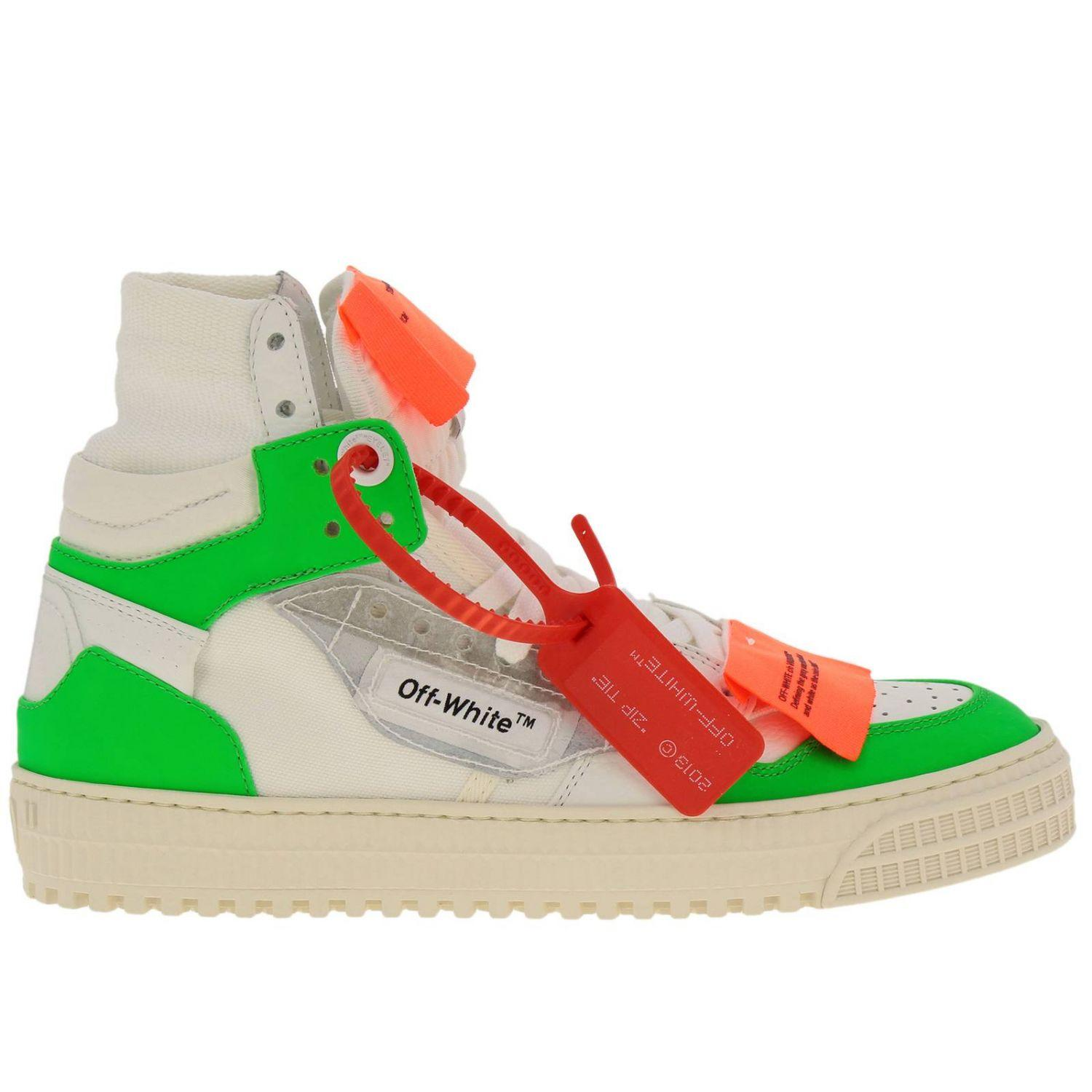 658a608a2e1e Lyst - Off-White c o Virgil Abloh Sneakers Shoes Women in Green