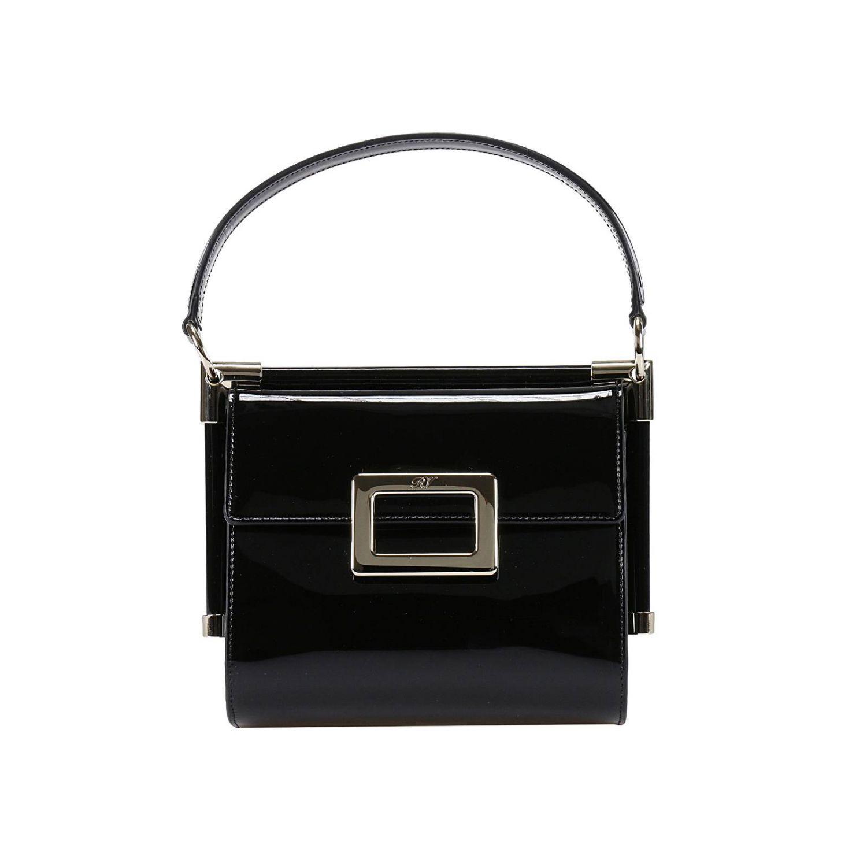 Roger Vivier Mini Bag Handbag Women in Black - Lyst 91c1d75208344
