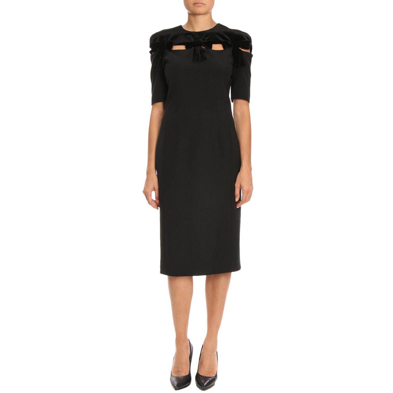 Robes coloris Fendi Noir femme en Lyst 0zqx4CFx 79ccb0ec088