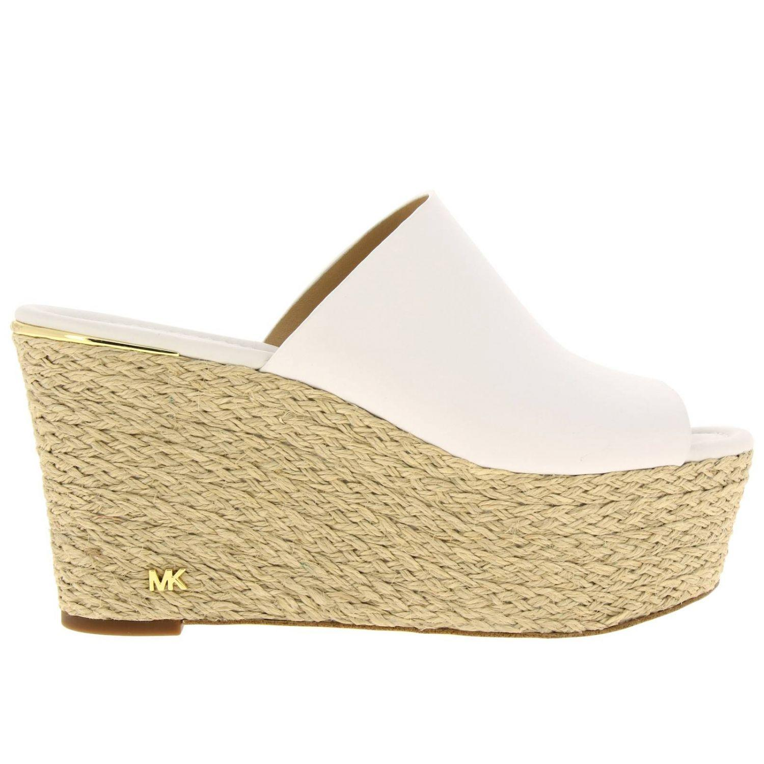 b4271fb8c42 Lyst - MICHAEL Michael Kors Wedge Shoes Women in White