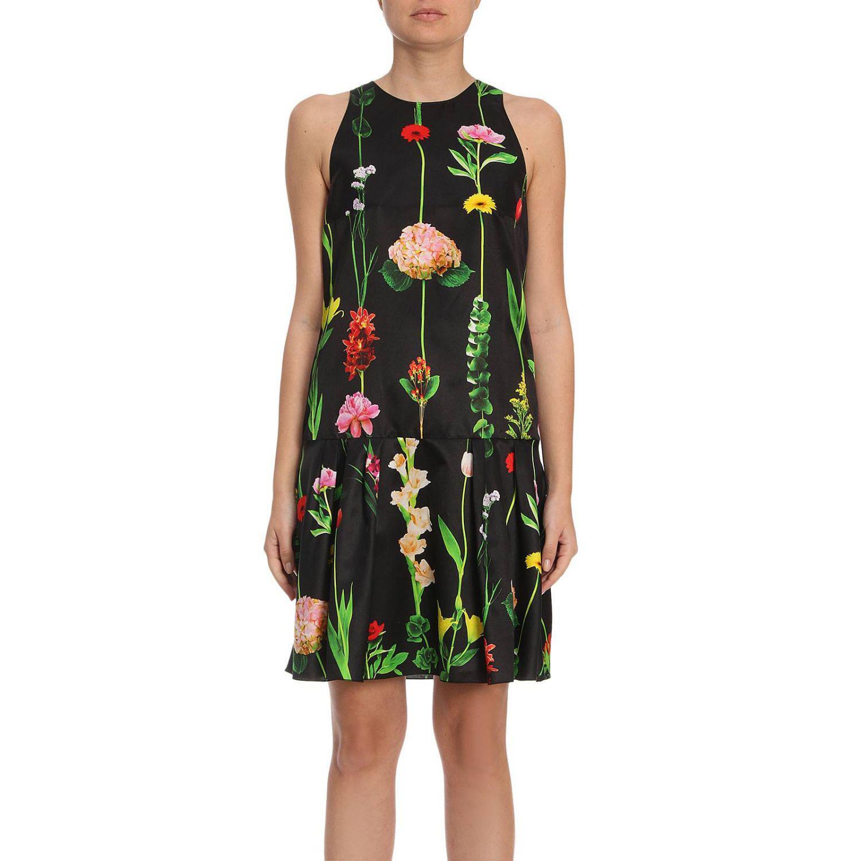 Couture Coloris En Lyst Femme Moschino Robes Noir nqWqAxtX1 93b27f458cd2
