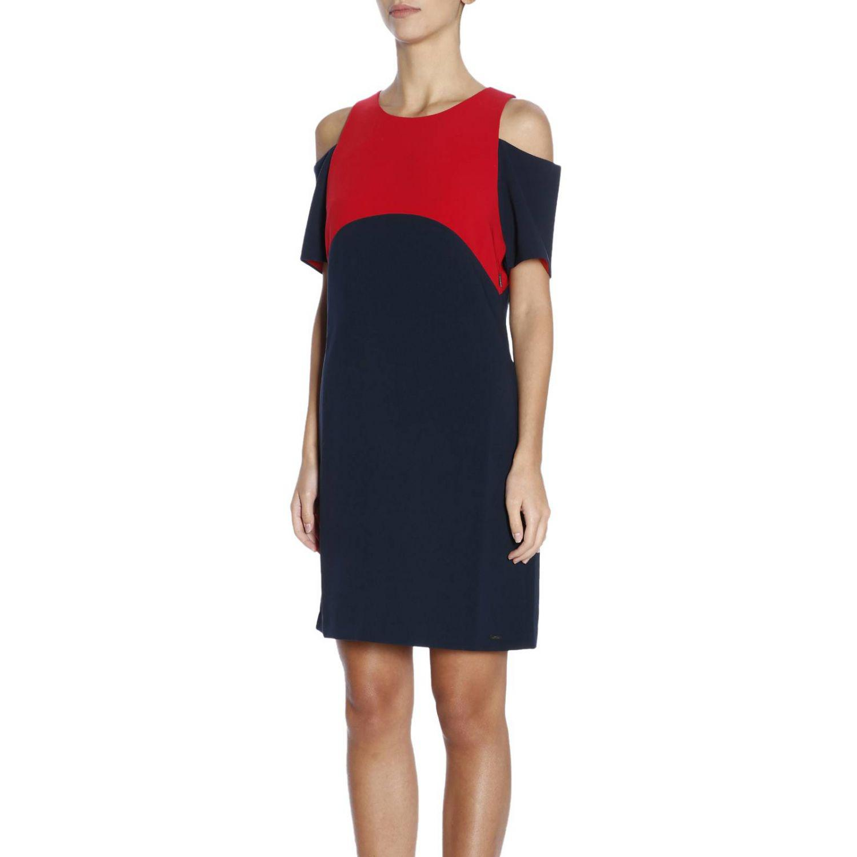 d54b4b0bbc60ff Lyst - Armani Exchange Dress Women in Blue