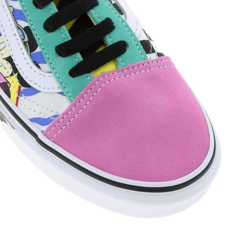 fef71c7710 Lyst - Vans Disney Old Skool Sneakers Dedicated To Mickey Mouse s ...