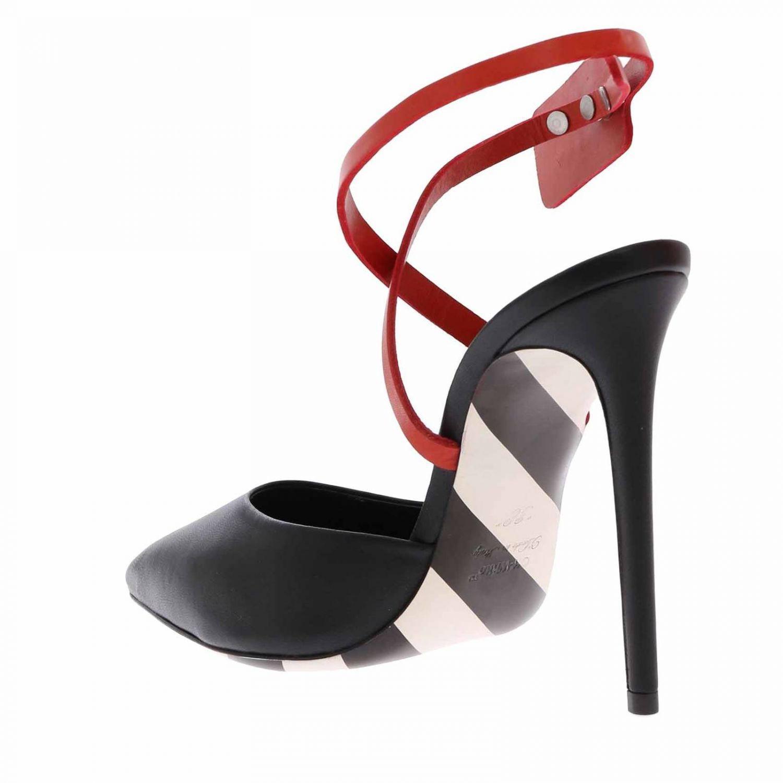23705ded5 Off-White c/o Virgil Abloh High Heel Shoes Women in Black - Lyst