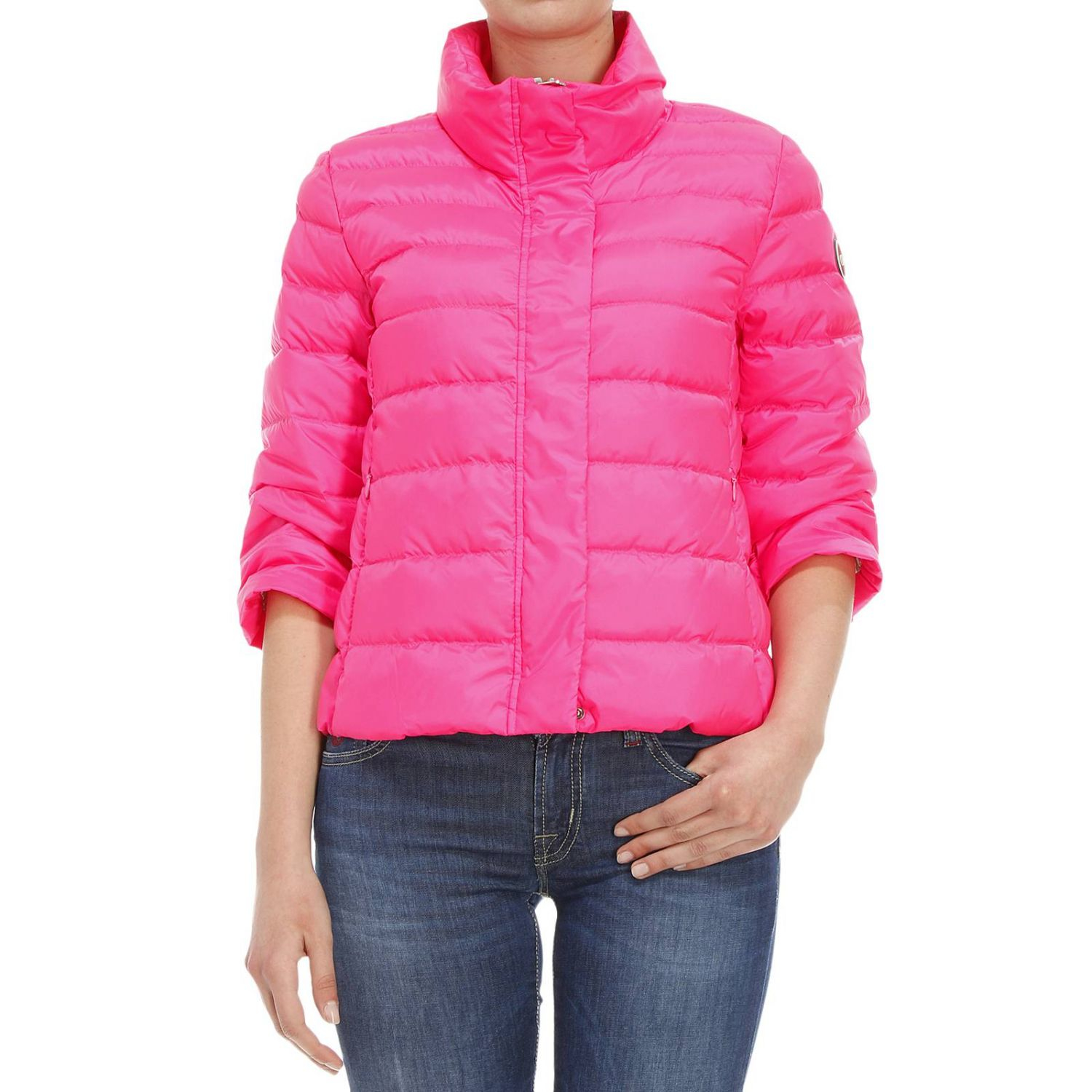 colmar jacket woman in pink fuxia save 51 lyst. Black Bedroom Furniture Sets. Home Design Ideas