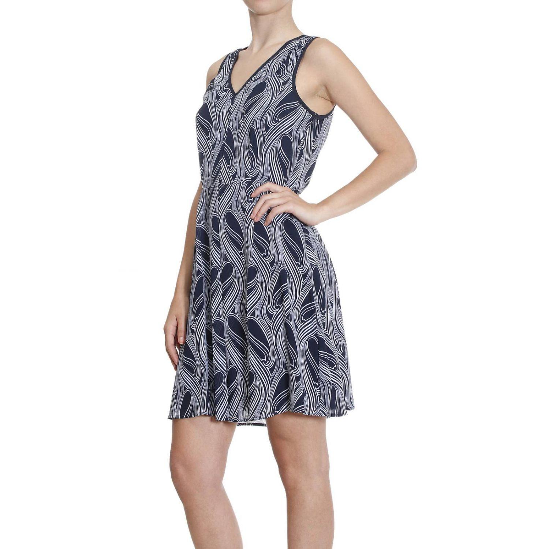 Model Michael Michael Kors Knee-Length Dress In Blue (Dark Blue)   Lyst