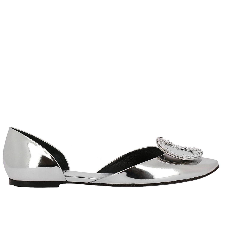 1622482e4 Roger Vivier Shoes Women in Metallic - Lyst