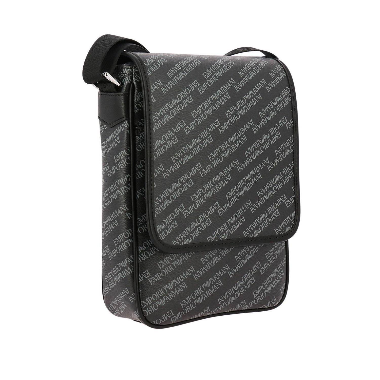 114df2b3c179 Lyst - Emporio Armani Bags Men in Black for Men