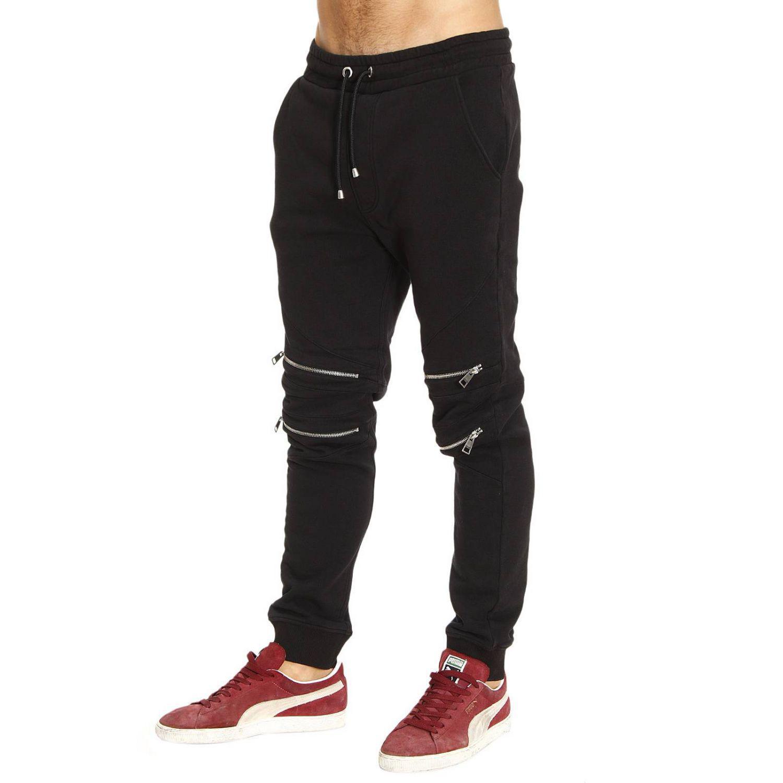 36385cf221 Lyst - Just Cavalli Pants Men in Black for Men