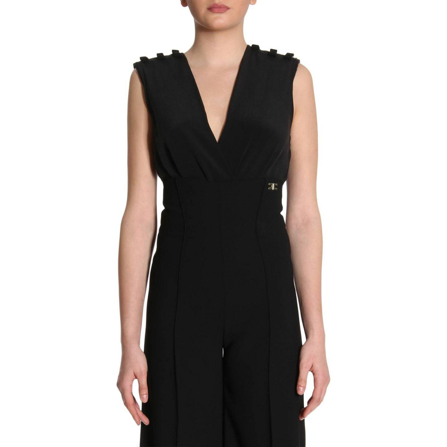 Black body Elisabetta Franchi Cost For Sale Discount Price Cheap Clearance Store Cheap Sale Wiki VroAXI2wP
