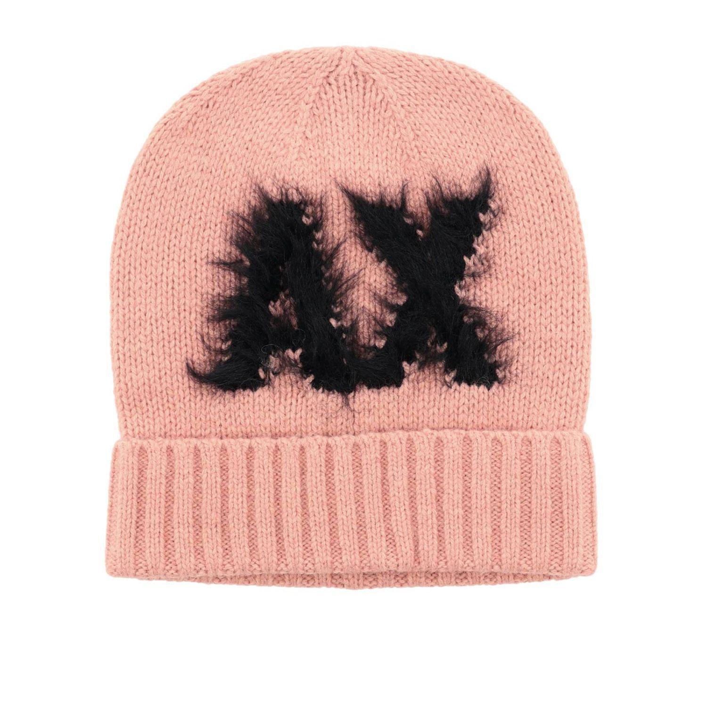 aaee2e31e2e Armani Exchange Hat Women in Pink - Lyst