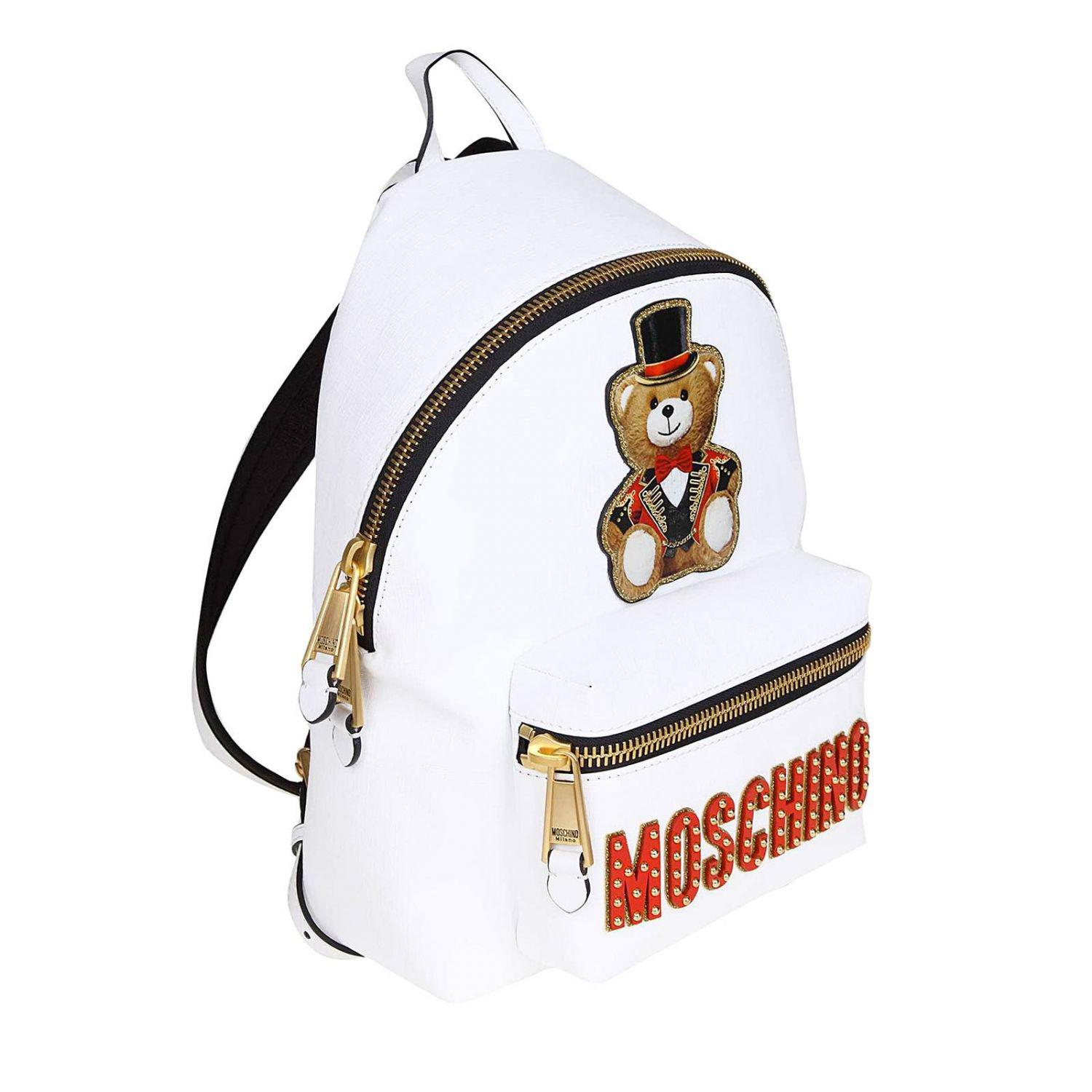 3c824000ad Moschino Couture - White Backpack Women - Lyst. View fullscreen