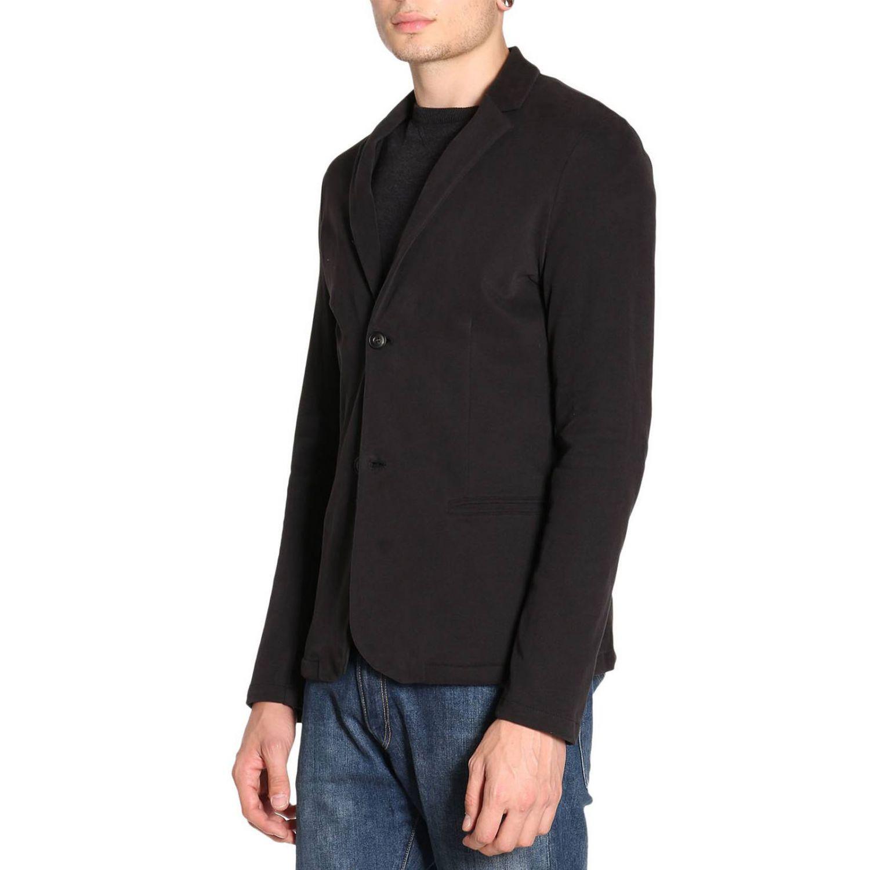 En Pour Blazer Noir Jeans Homme Armani Lyst Coloris RFZwOqW