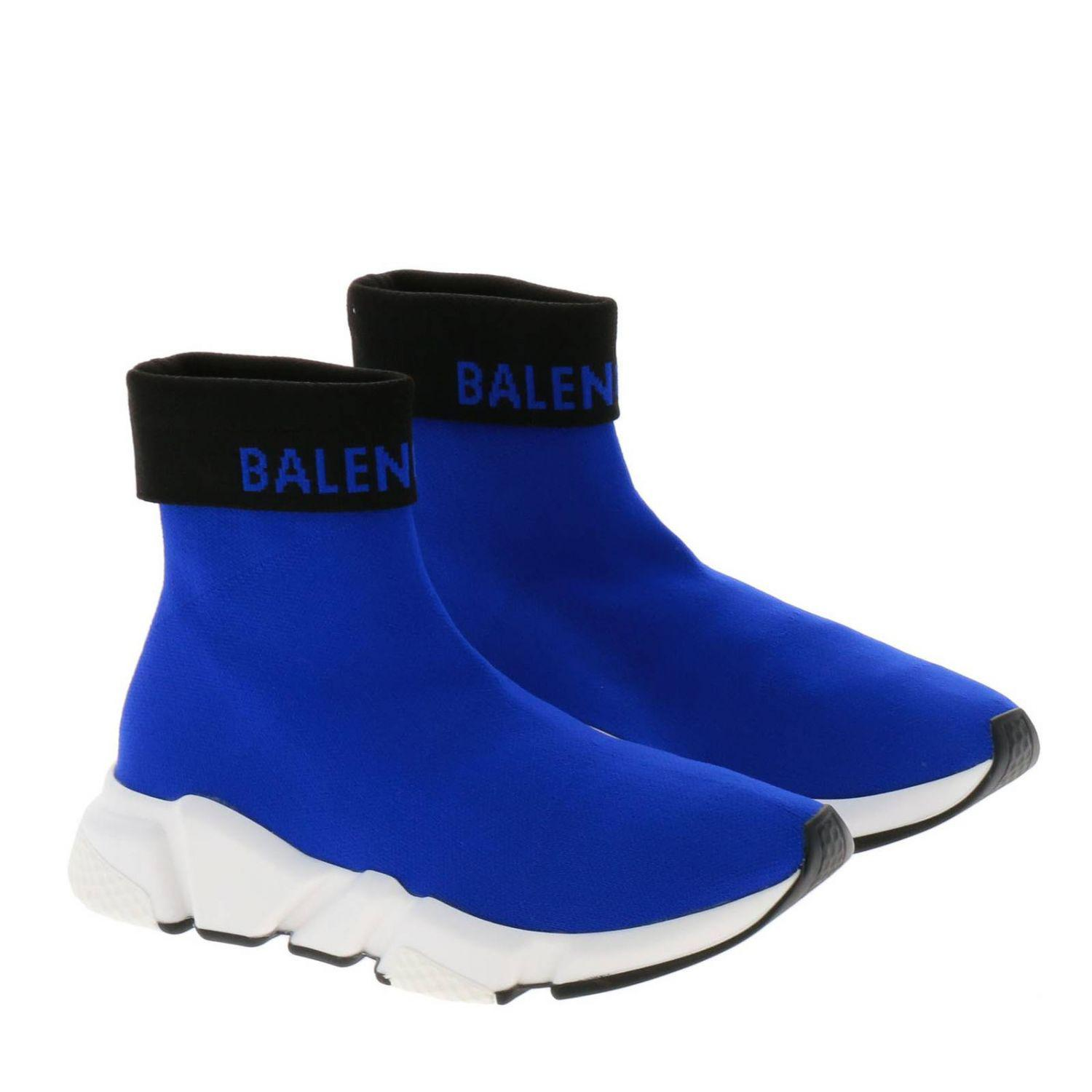 d7a7c62508d9 Balenciaga - Blue Sneakers Shoes Women - Lyst. View fullscreen