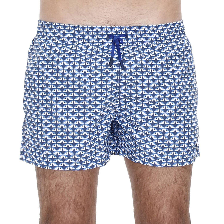 21a62cfe23444 Fendi Swimsuit Swimwear Men in Blue for Men - Lyst