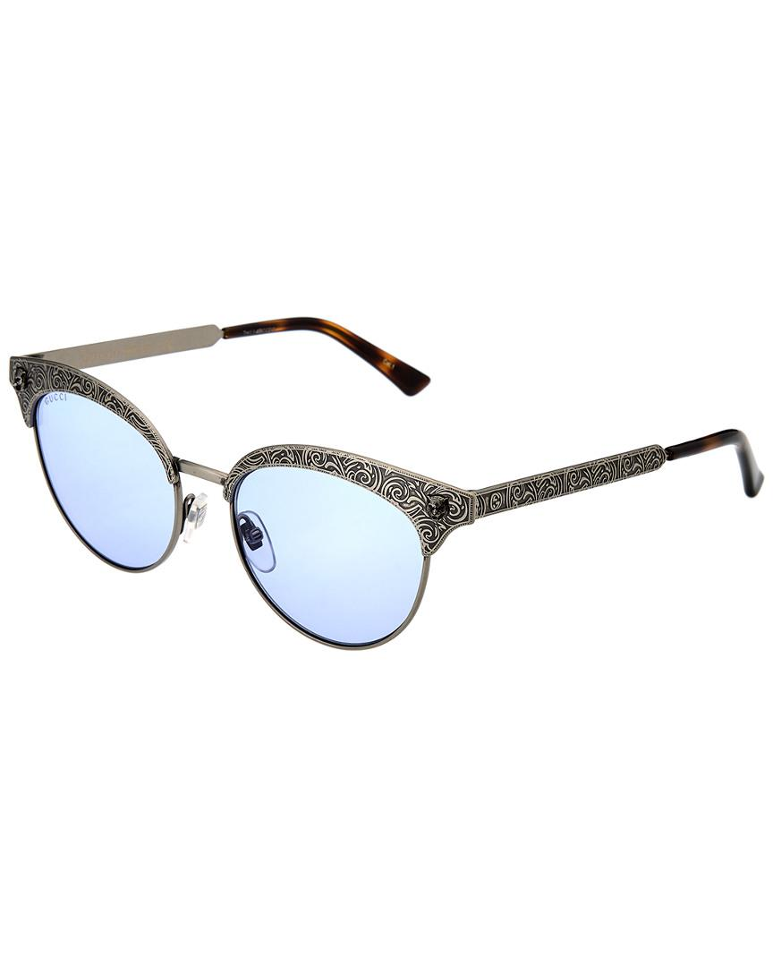 a7a4ee7d9e Lyst - Gucci Women s GG0220S-30001796005 52mm Sunglasses - Save ...