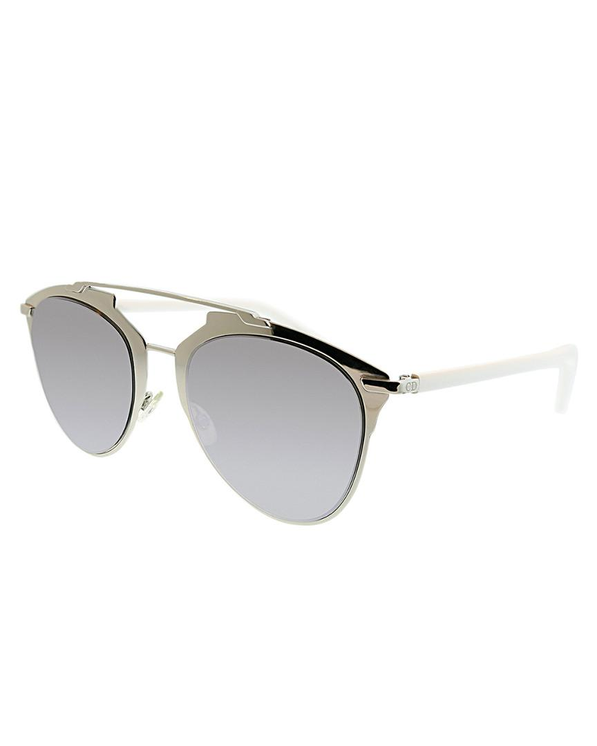 acbf45ed34 Lyst - Dior Women s Aviator 63mm Sunglasses