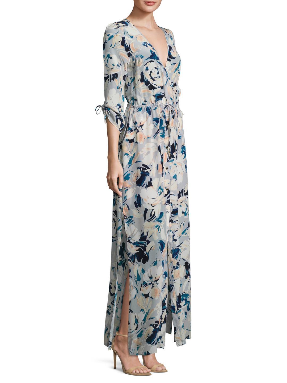 Lyst - Yumi Kim My Fair Lady Maxi Dress in Blue
