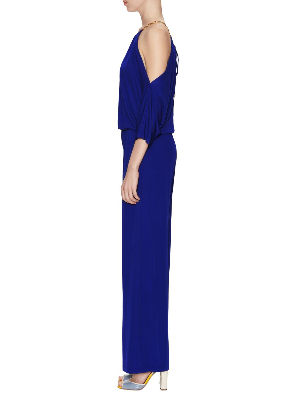 57065547caca Lyst - Trina Turk Angie Jumpsuit in Blue