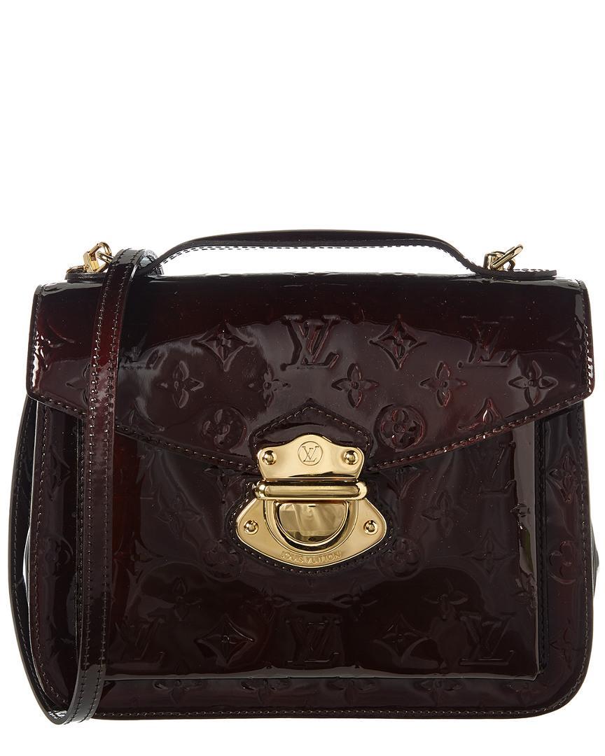 dd6e51633170 Louis Vuitton. Women s Burgundy Monogram Vernis Leather Mirada