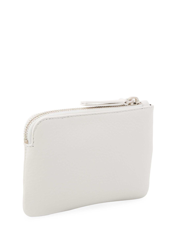 White XS Logo Coin Pouch Balenciaga A8eX5gF
