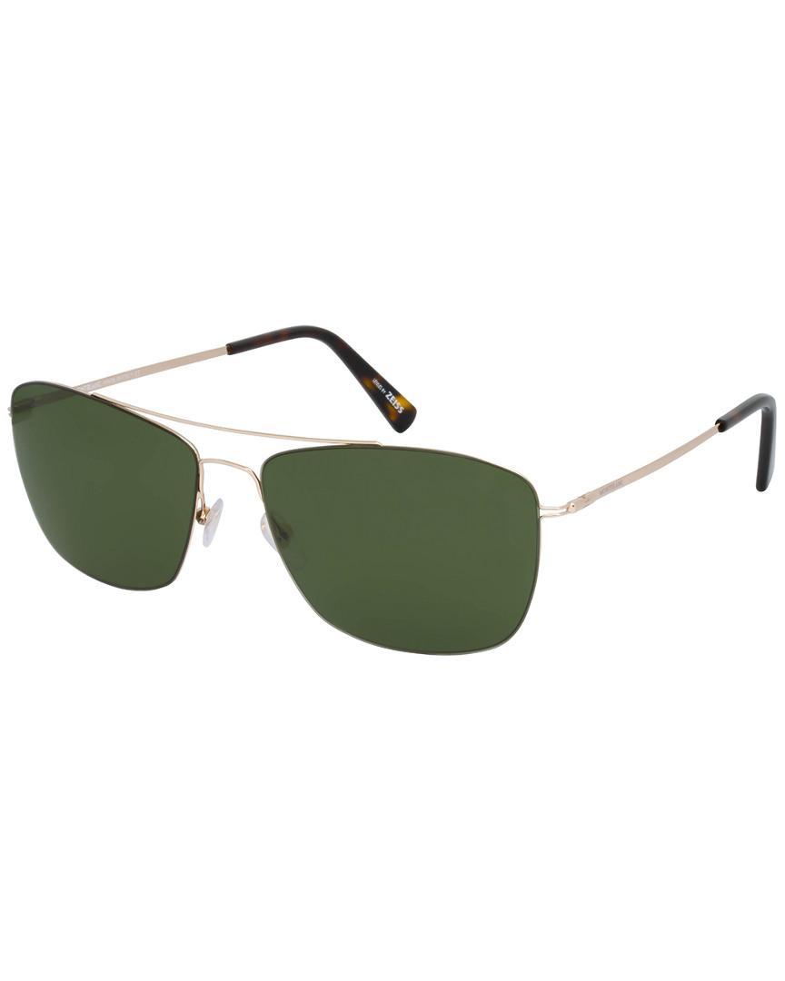 0ee6eefbd6 Montblanc Mont Blanc Men s Mb594s 59mm Sunglasses in Green for Men ...