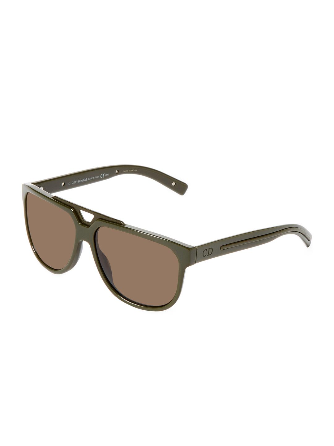 784e764a566 Lyst - Dior Homme Polarized Aviator Frame in Green for Men