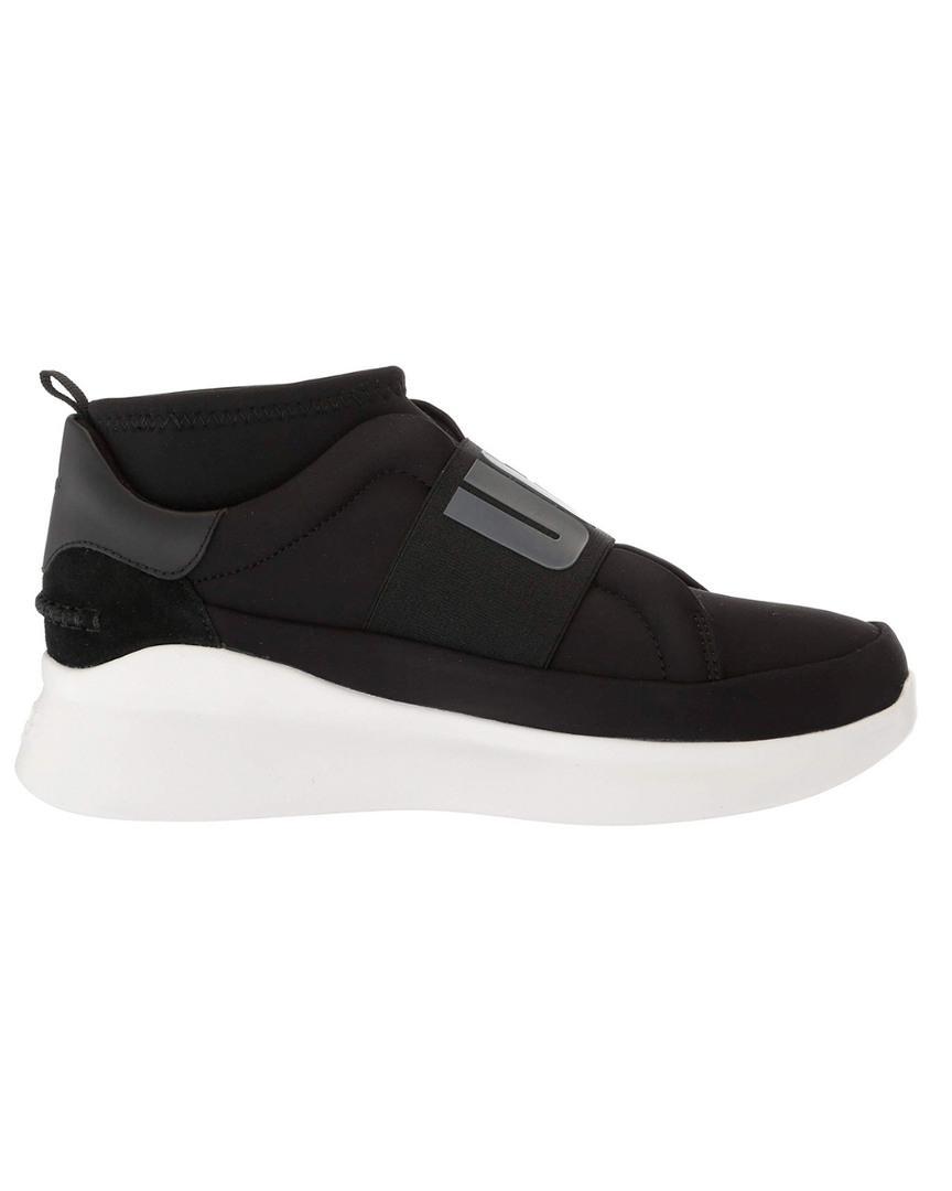 38ac57b5635 UGG Women's Neutra Platform Sneaker in Black - Lyst