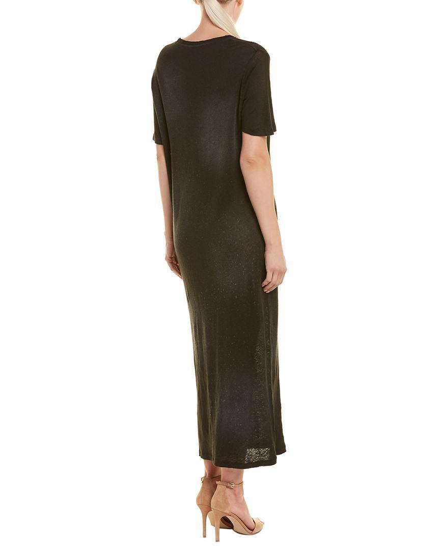 6fa559b597e IRO - Black Maxi T-shirt Dress - Lyst. View fullscreen