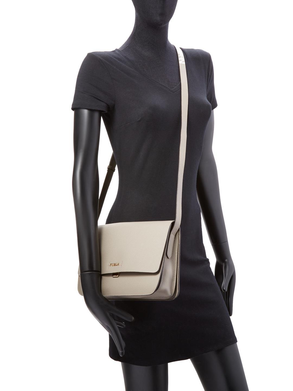 bf838404b811 Lyst - Furla Sveva Medium Crossbody Bag in Natural