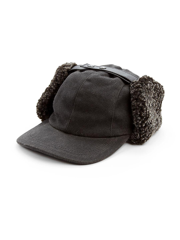 7b9be4b6c52 Crown Cap Shearling Fudd Cap in Gray - Lyst