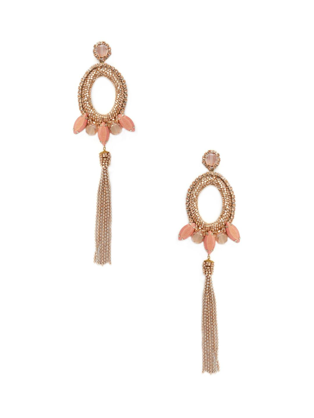 embellished drop earring - Metallic Deepa Gurnani BQV2K2