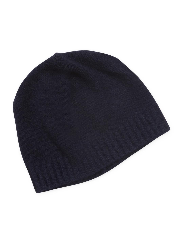 87e18da9ff9 Lyst - Portolano Cashmere Skull Hat in Blue for Men