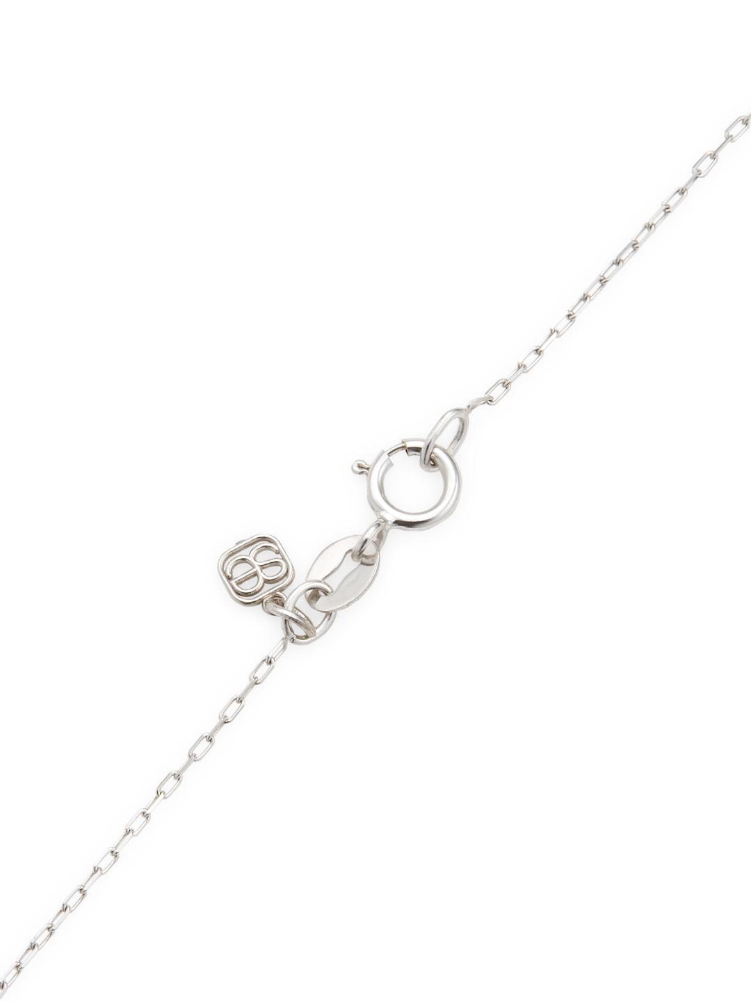 14k white gold wishbone necklace famous necklace 2018 lyst saks fifth avenue 14k yellow gold wishbone pendant necklace aloadofball Image collections