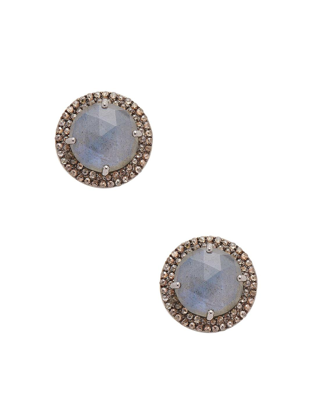 sterling jewels collections champagne stud diamond color jewelry vir cttw earrings silver