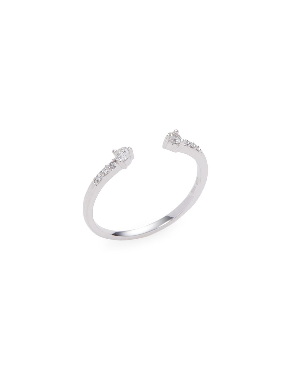 68d33794e32a5 Lyst - Danni Diamond Ring in Metallic