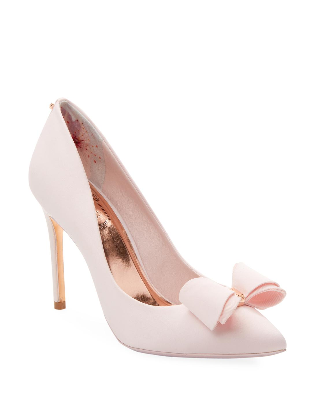 f861a4a3b7aaf2 Lyst - Ted Baker Azeline High Heel Pump in Pink