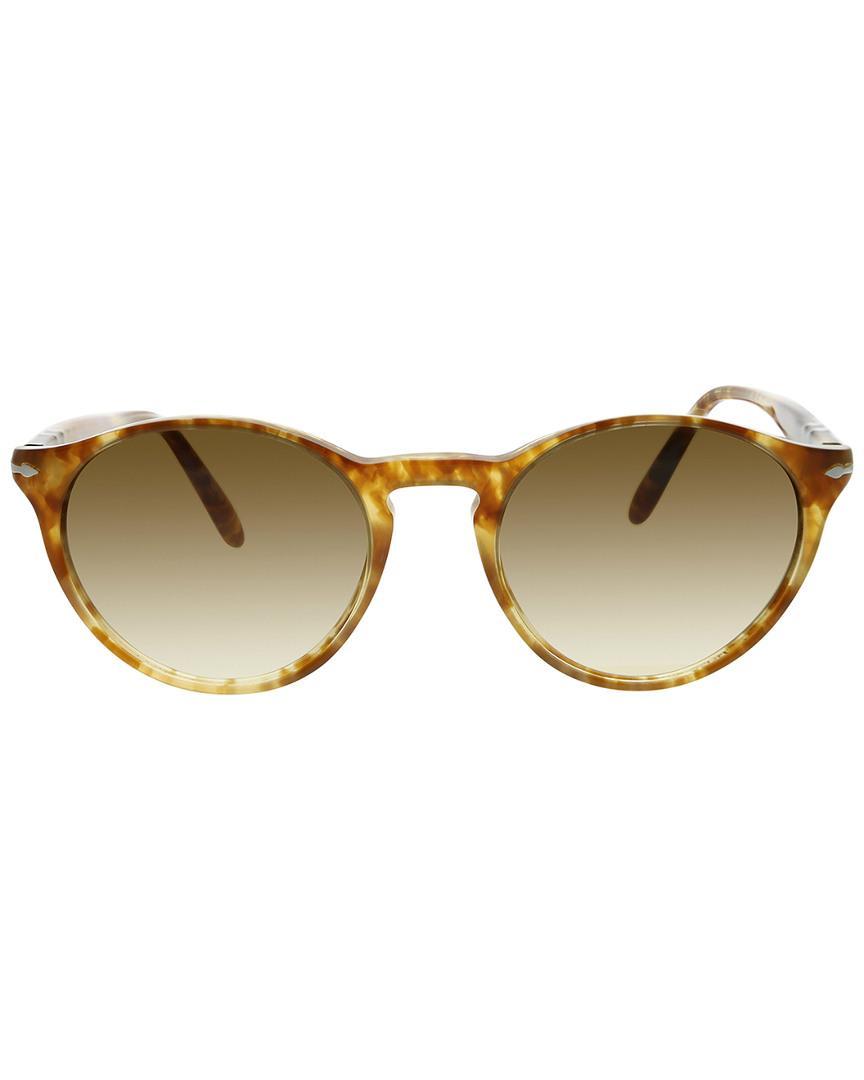 e123cf9e0a45f Lyst - Persol Men s Round 50mm Sunglasses for Men