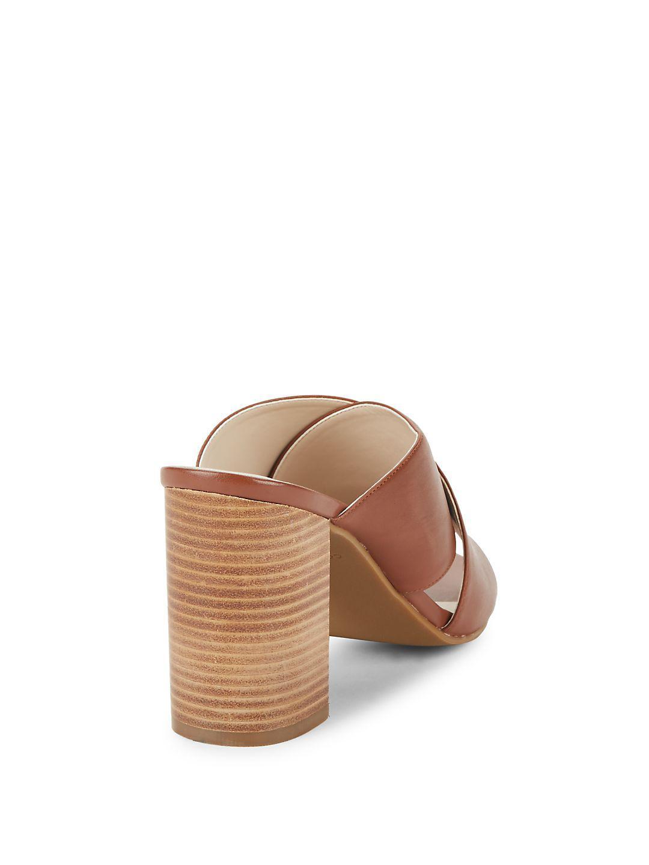 72a5fd1dfe8c Cole Haan Gabby Open-toe Block-heel Sandals in Brown - Lyst