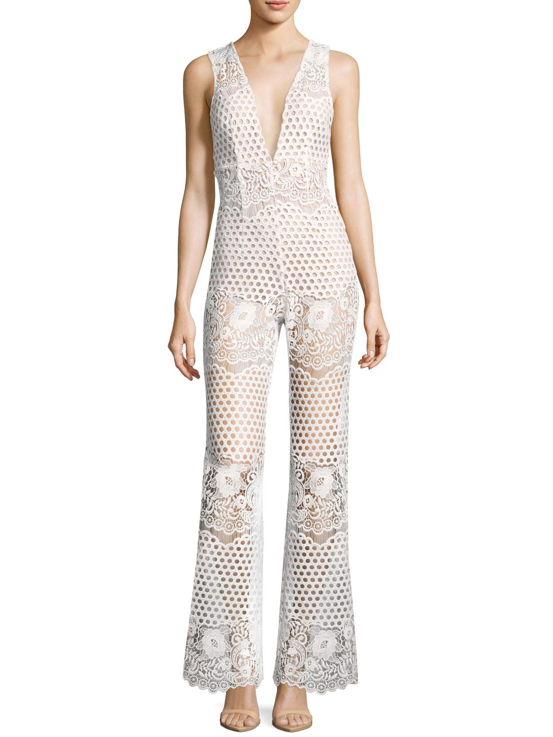 25c853abf74b Lyst - Alice McCALL New Romantics Jumpsuit in White