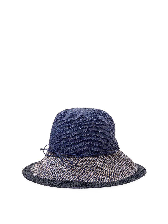 Lyst - Helen Kaminski Provence Bucket Hat in Blue a258589fa429