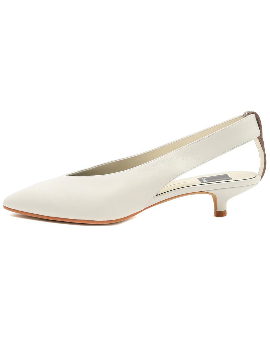 b01b721beb5f Dolce Vita Orly Leather Pump in White - Lyst